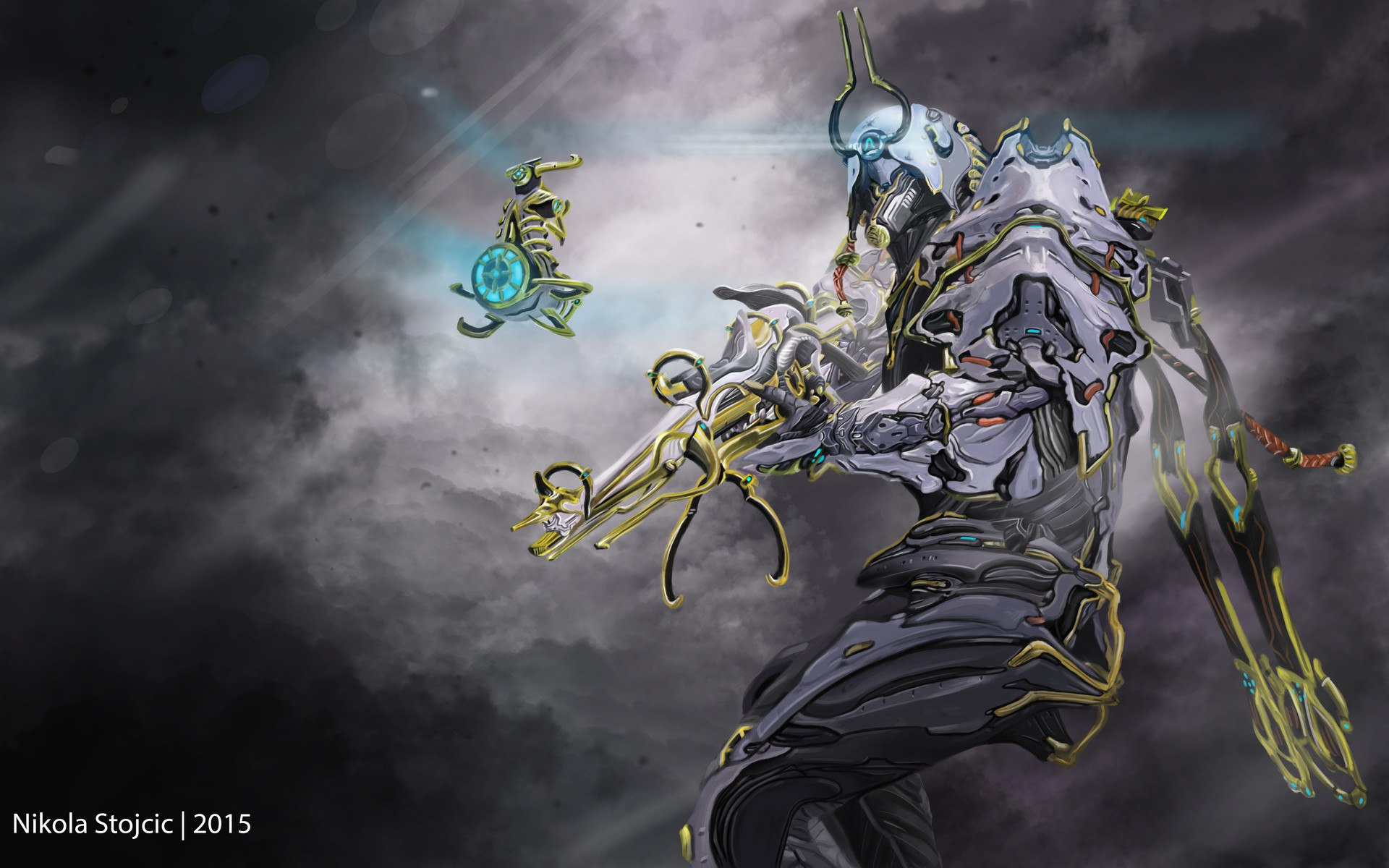 Nikola Stojcic Warframe Ash Prime Fan Art Like all warframes, ash is built in the foundry using blueprints that are picked up in game. nikola stojcic warframe ash prime