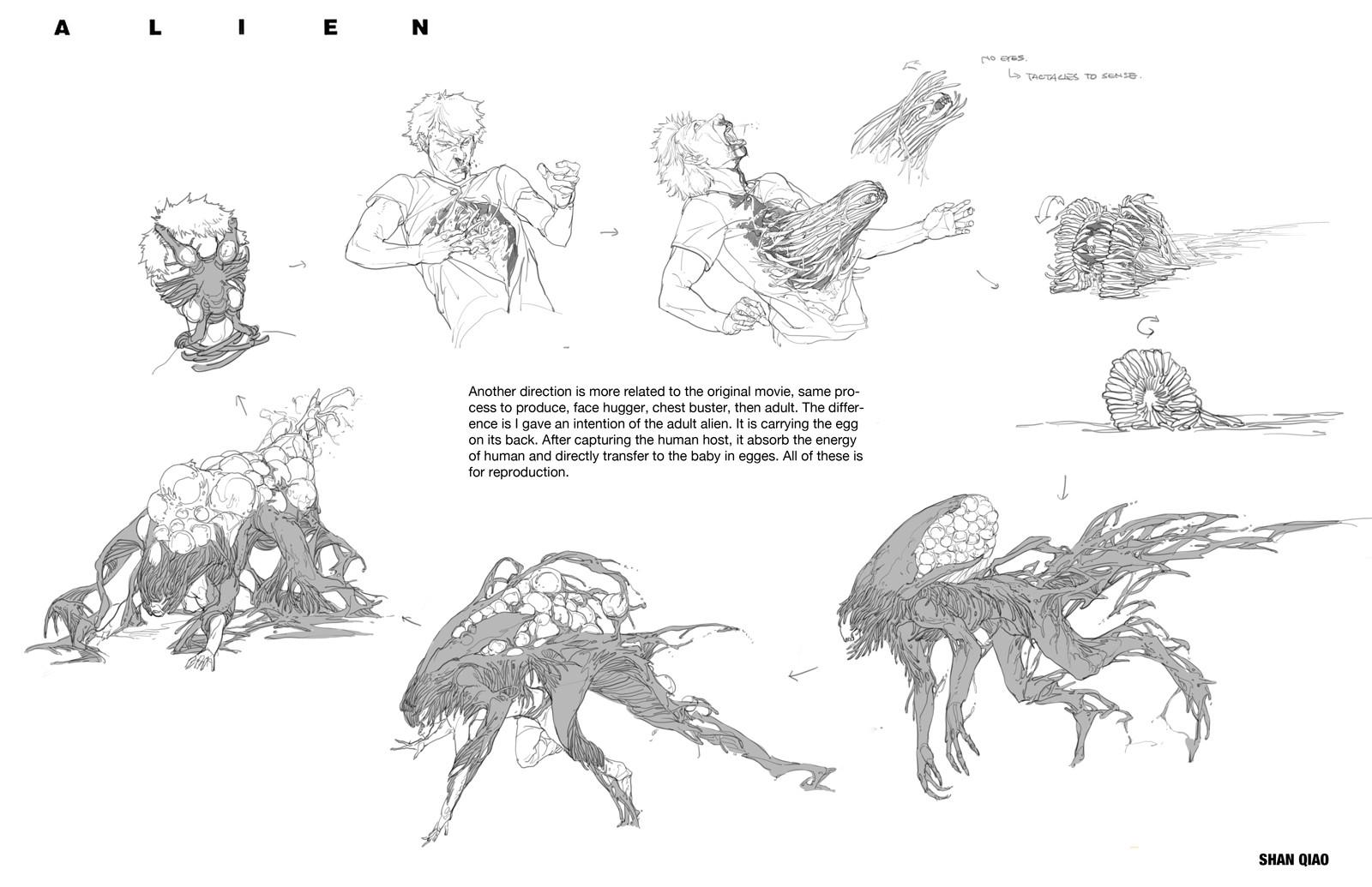 Shan qiao alien redesign shan qiao 026