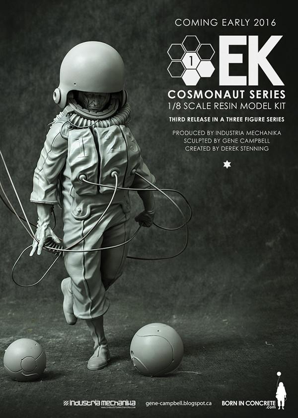 ArtStation - EK Cosmonaut 01 - Resin Model Kit, Derek Stenning