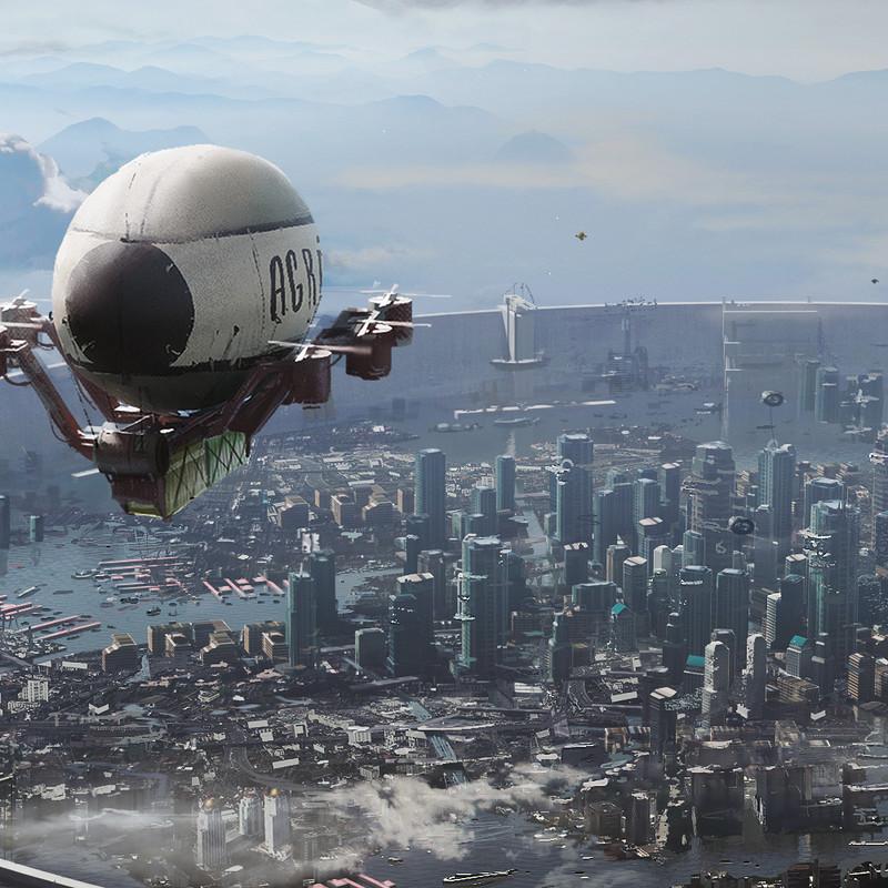 Bangkok XXIII - Sky transport