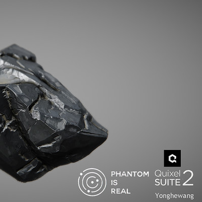 my poject:《幻》《phantom》 Rock for Quixel SUITE 2.0