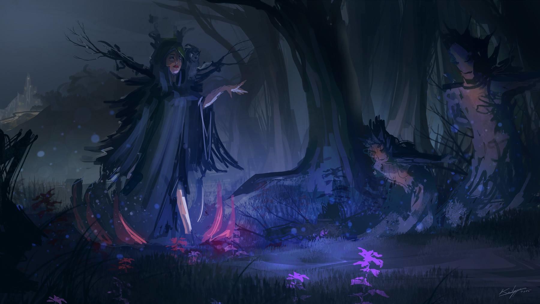 Thibault girard spk witch realm