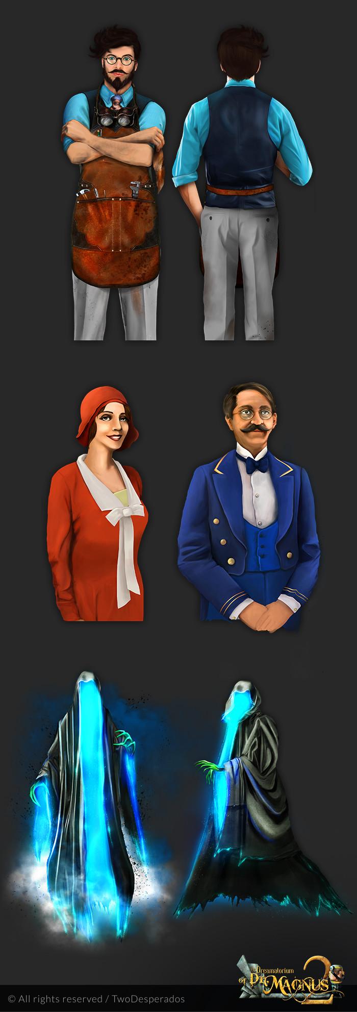 Milica todorovic magnus2 characters