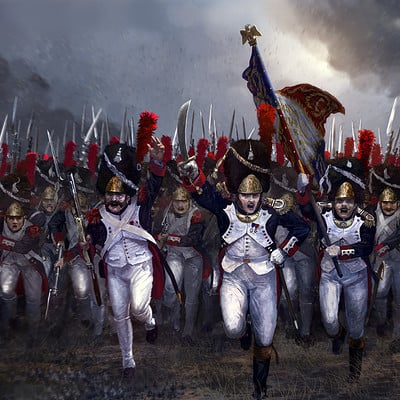 Edouard groult grenadiers charge 90