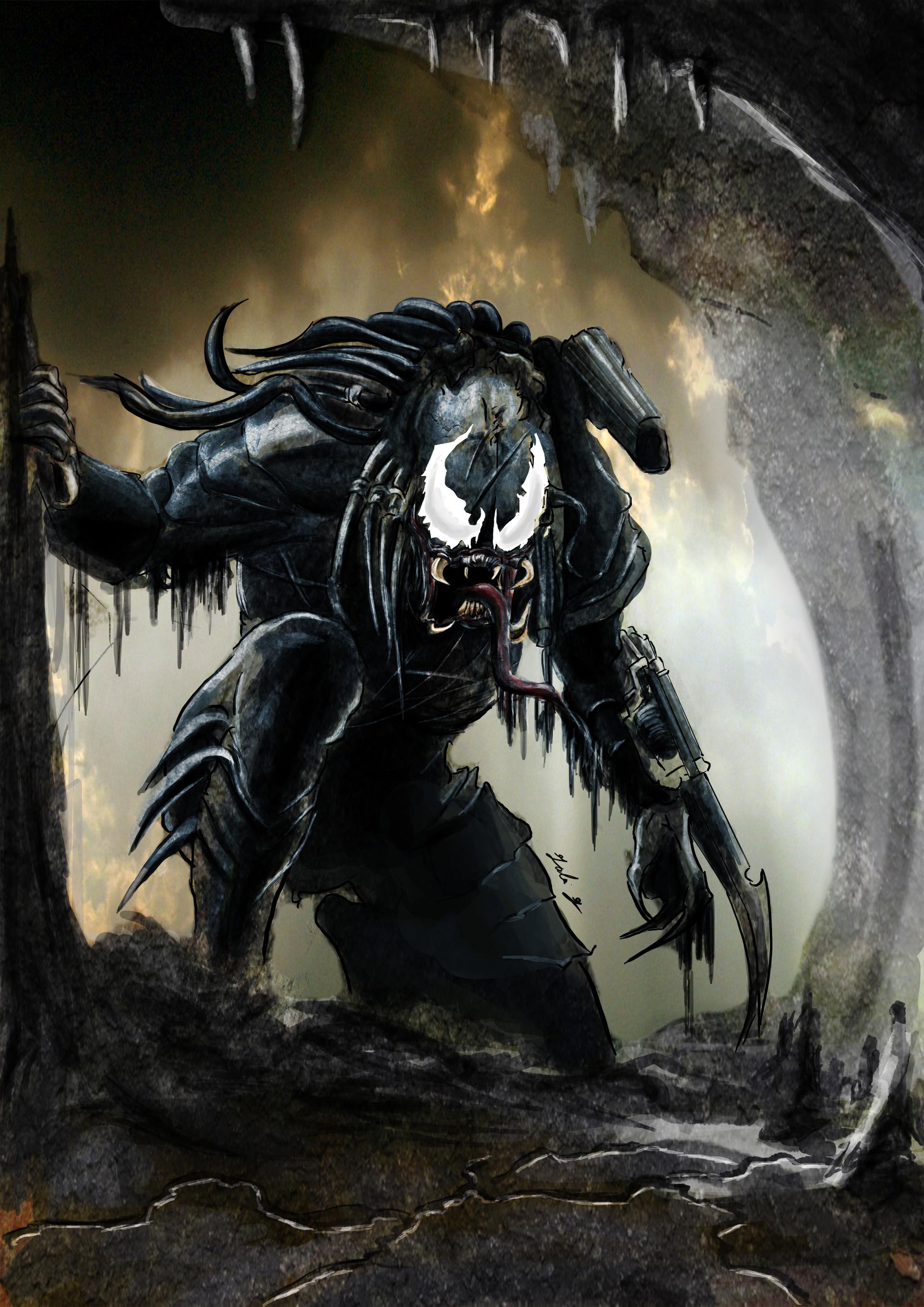 Venom Fantasy Art