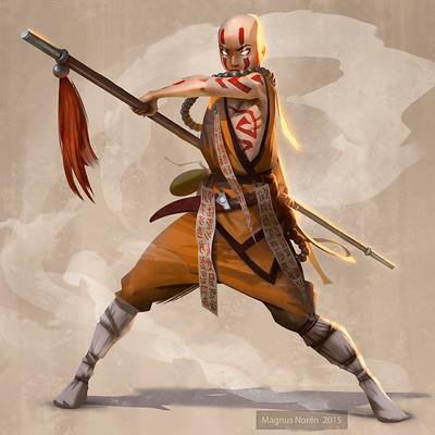 Magnus noren shaolin monk1