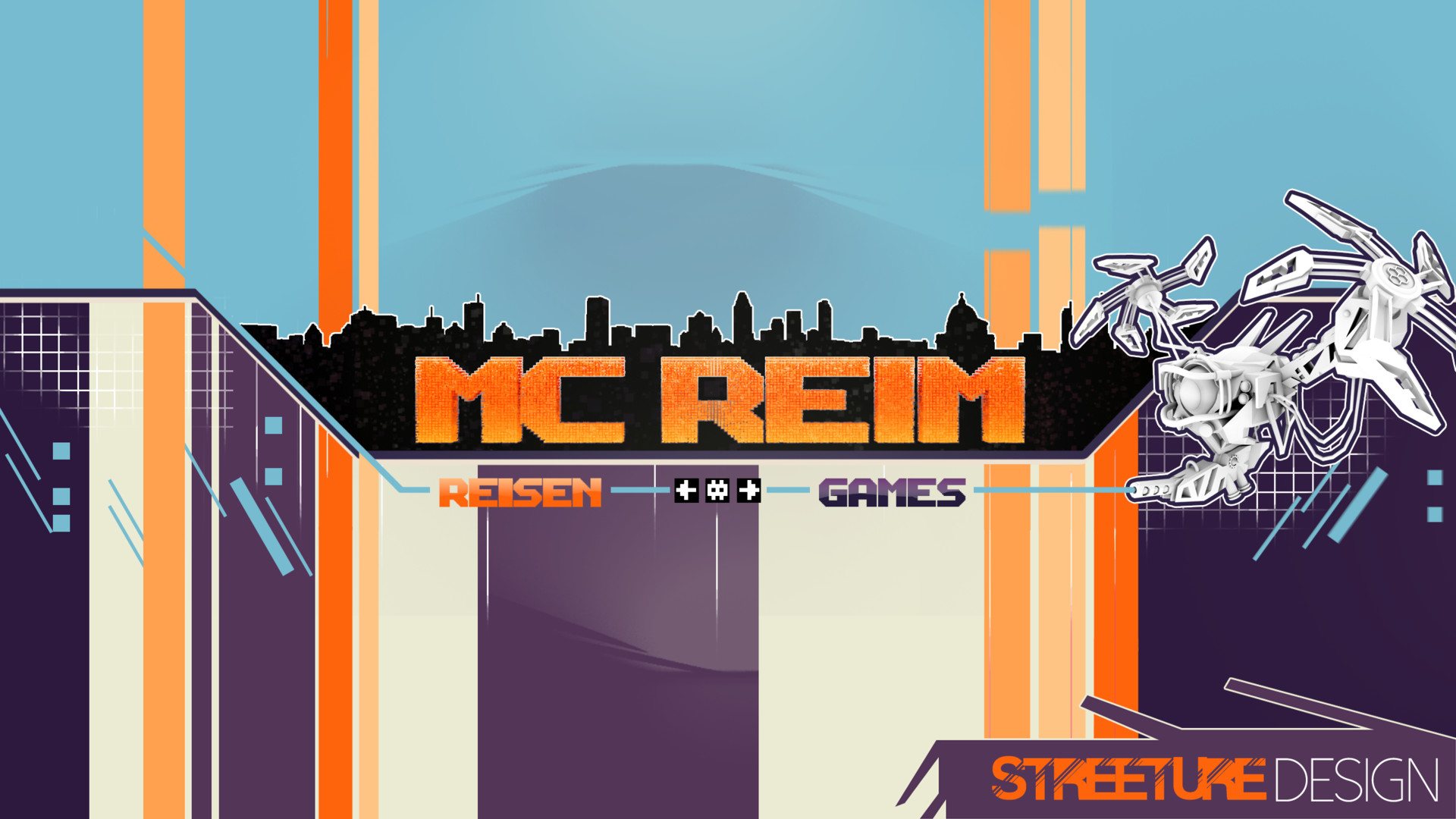 Streeture design youtube channel banner mr
