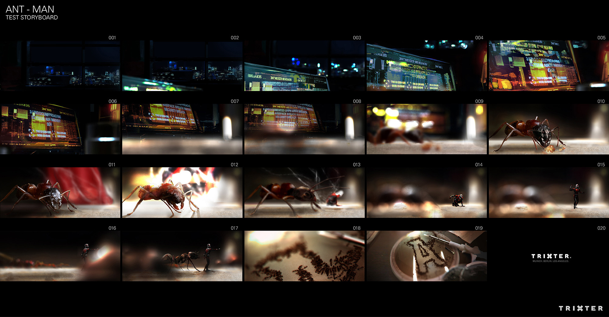 The storyboard.
