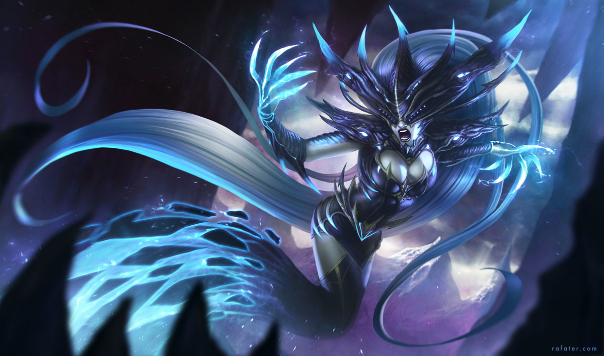 Rafael teruel league of legends lissandra by rafater