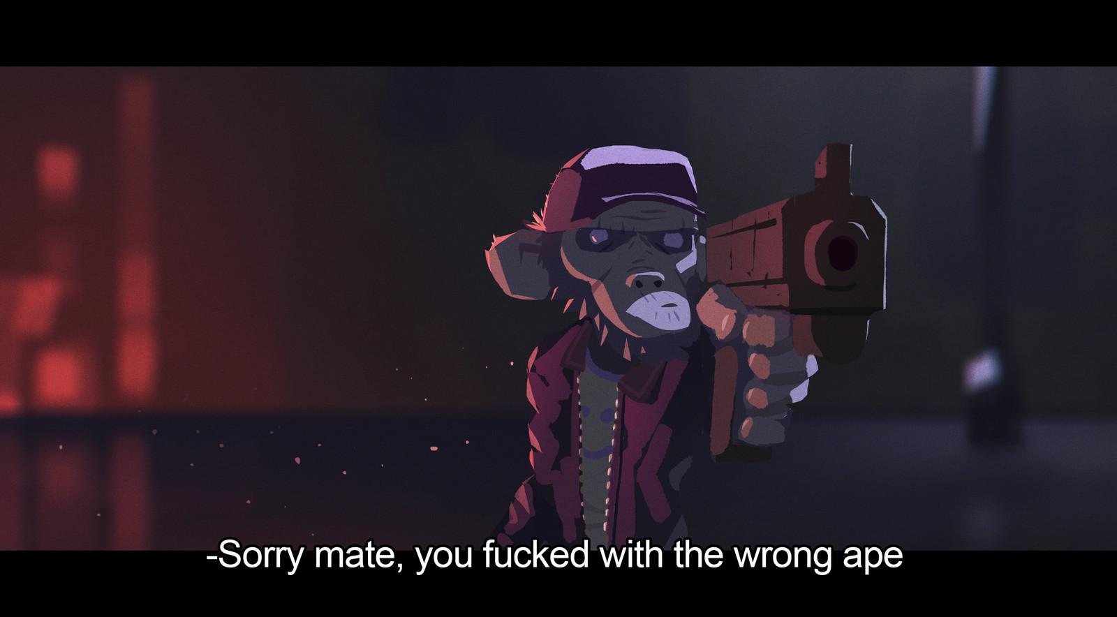 Wrong Ape