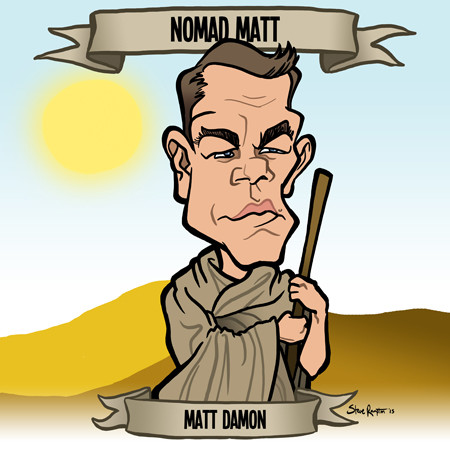Steve rampton matt damon small