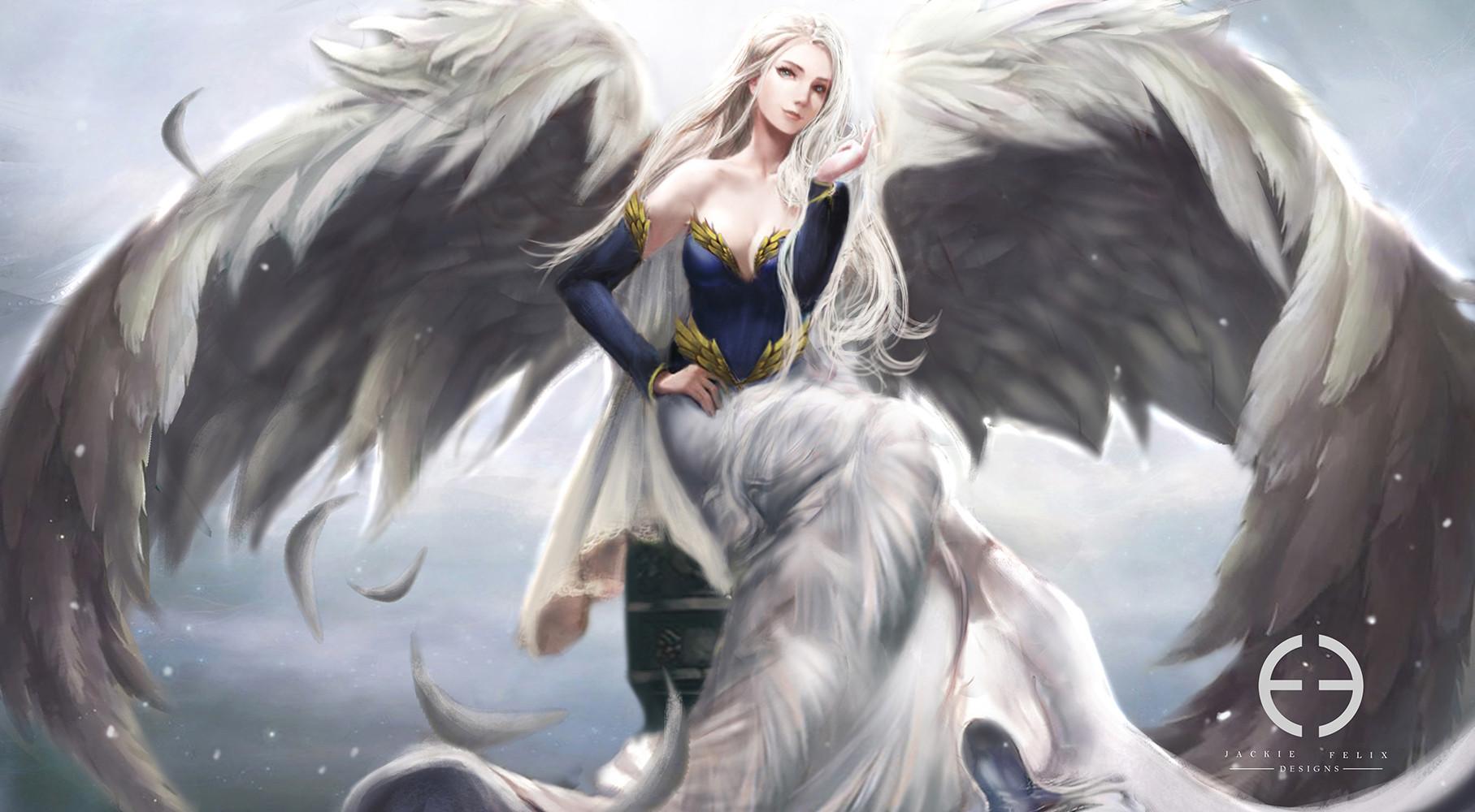 Fantasy Art Female Angle