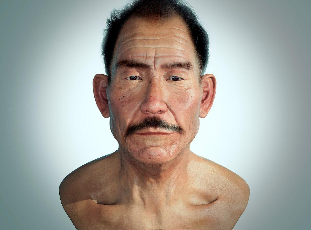 Julio Montilla Ortiz - Anatomy Face Old Man Practice