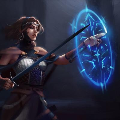 Manuel castanon swordgirl