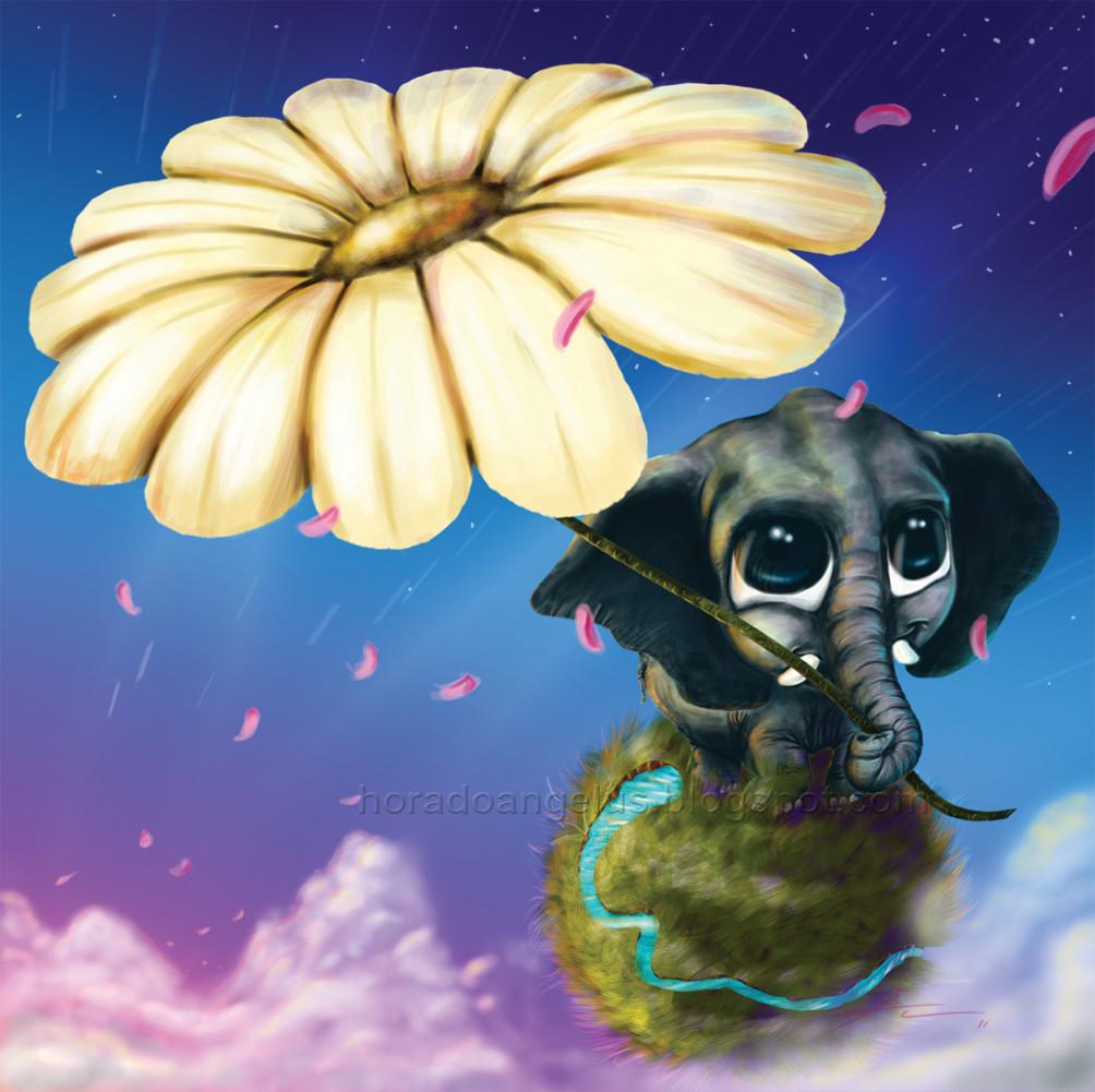 Angelo carvalho elefante e flor 02 2011