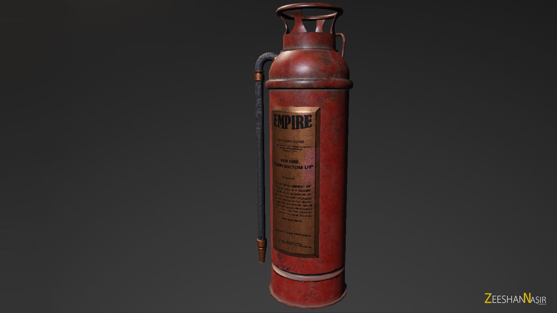 Zeeshan nasir fireextinguisher render 01