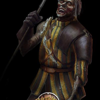 Konrad langa undead spearman bb logo