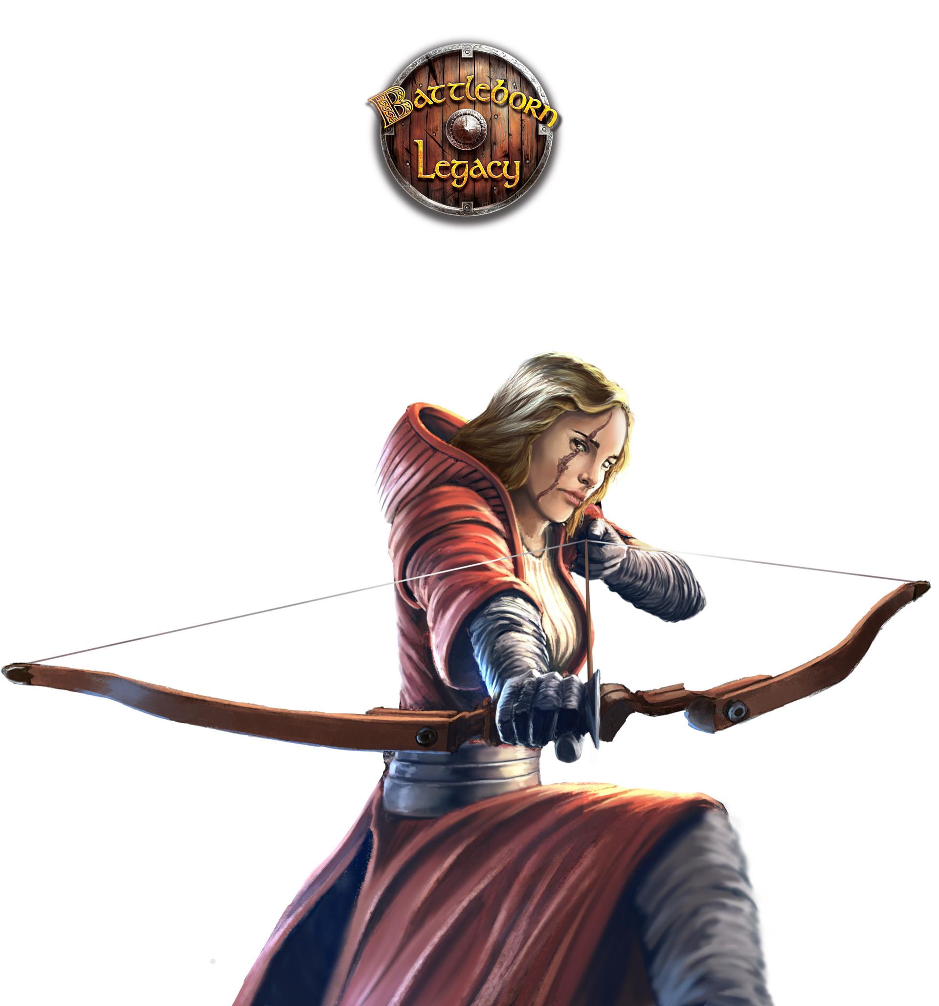 Konrad langa human archer bb logo