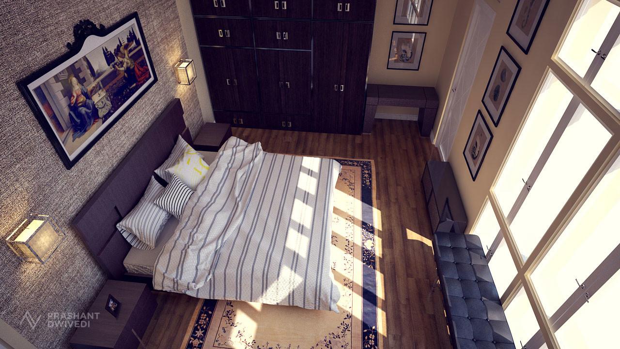 Prashant dwivedi hotel bedroom image 3