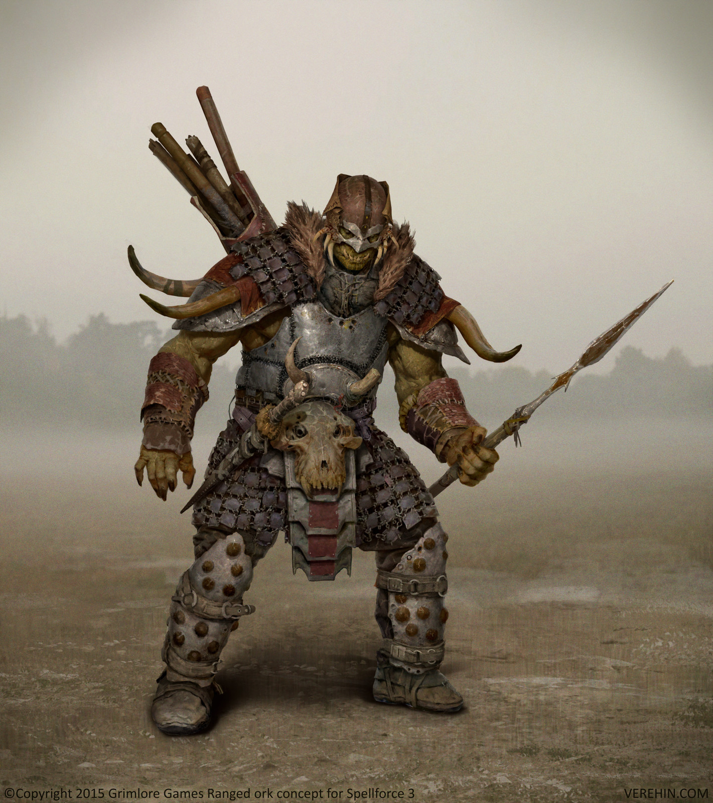 Spellforce 3 Ranged Ork