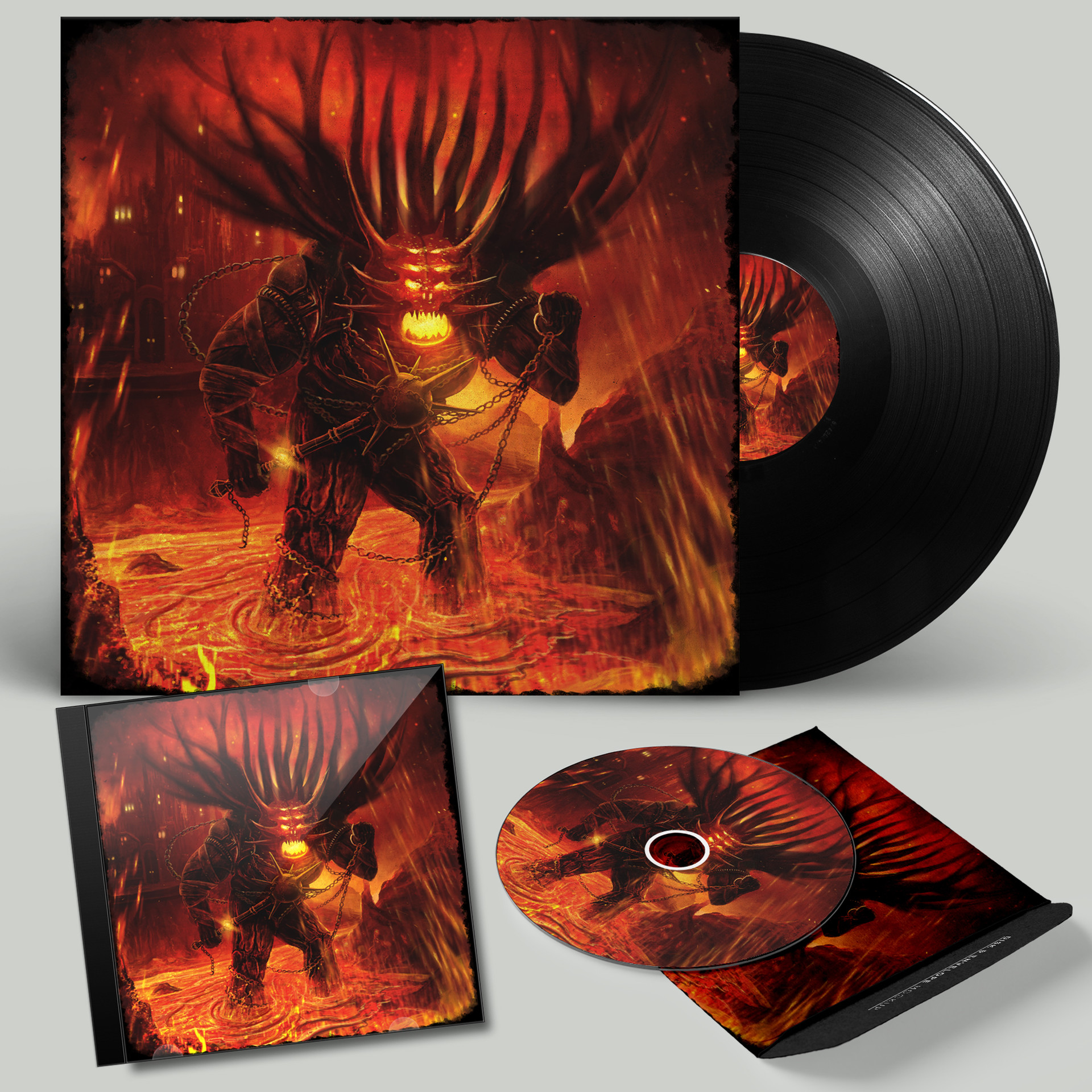 Anton karlik vinyl record psd mockup