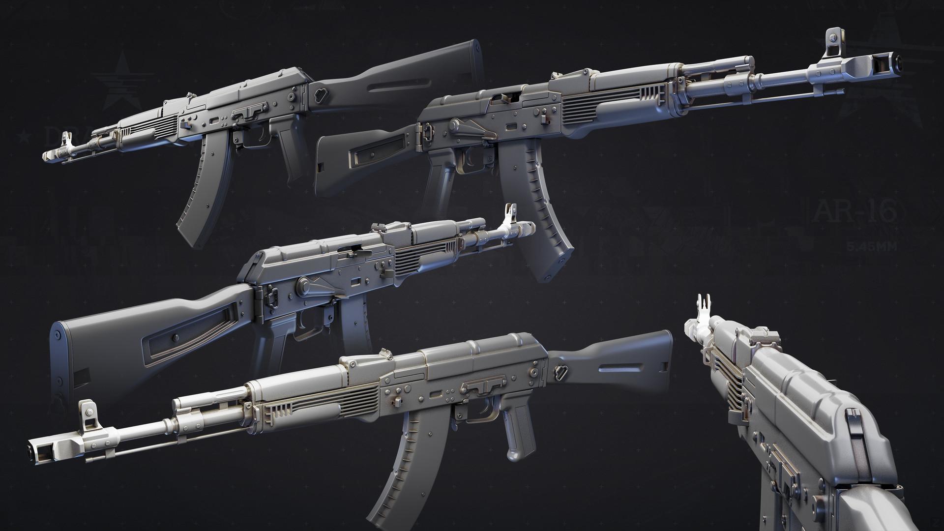 Dragunov AR-16