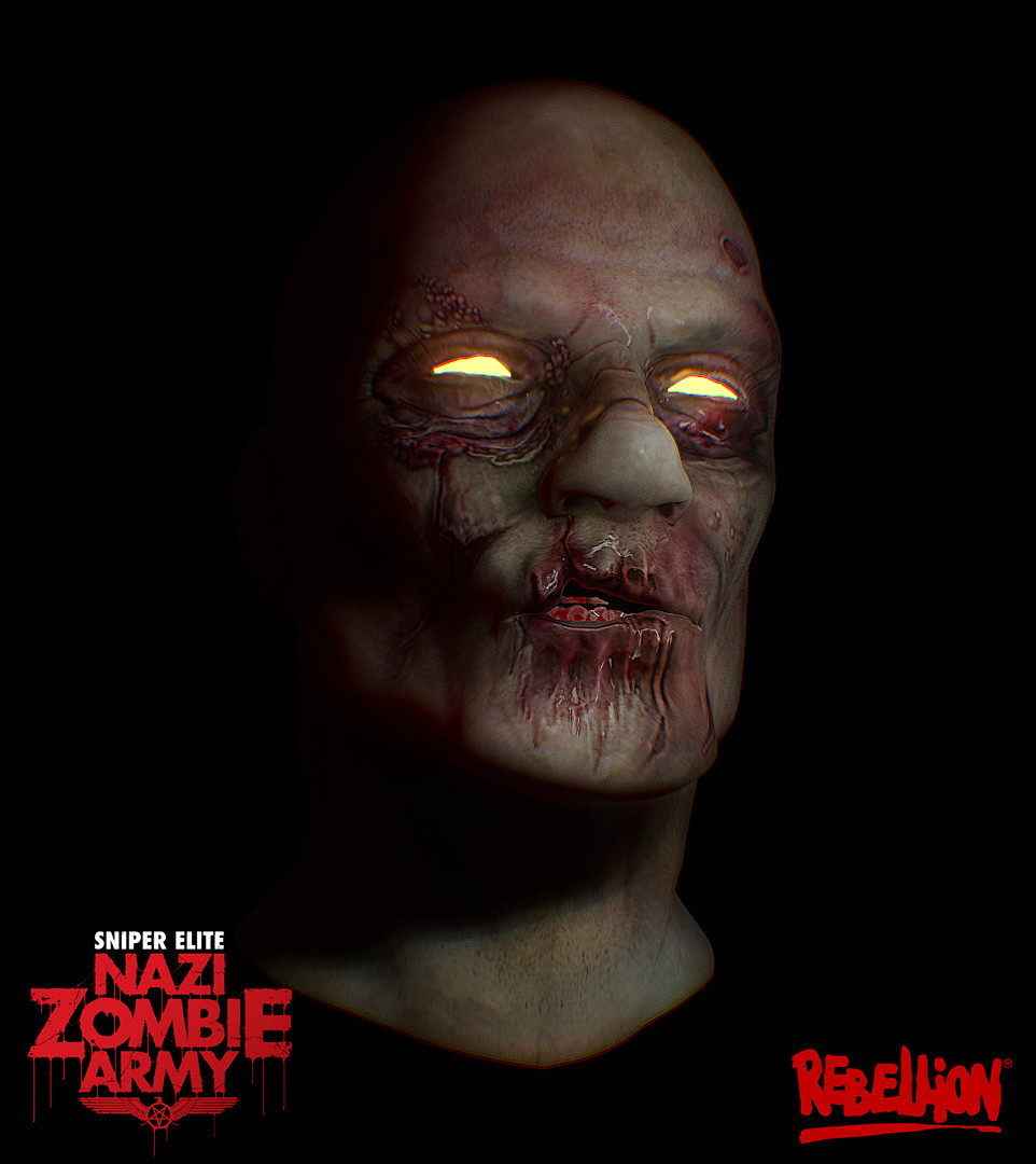 Paul foster zombie head