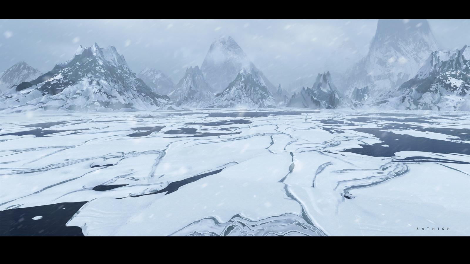 Environment  Designs _Snow Landscapes