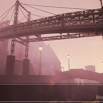 Misty Port - Unreal 4 level