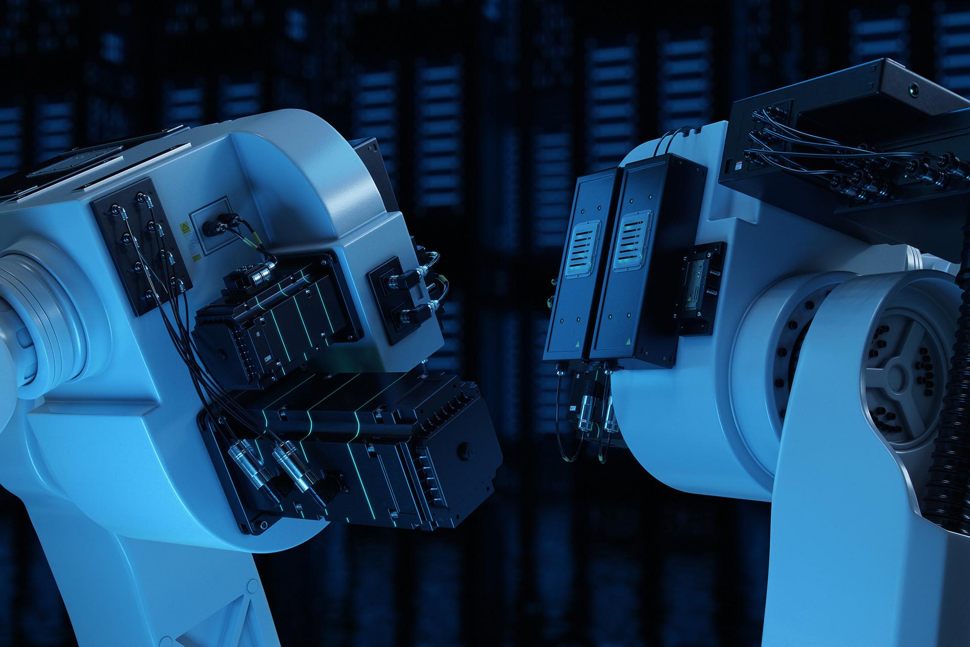 Anton podvalny robots 3 artstation