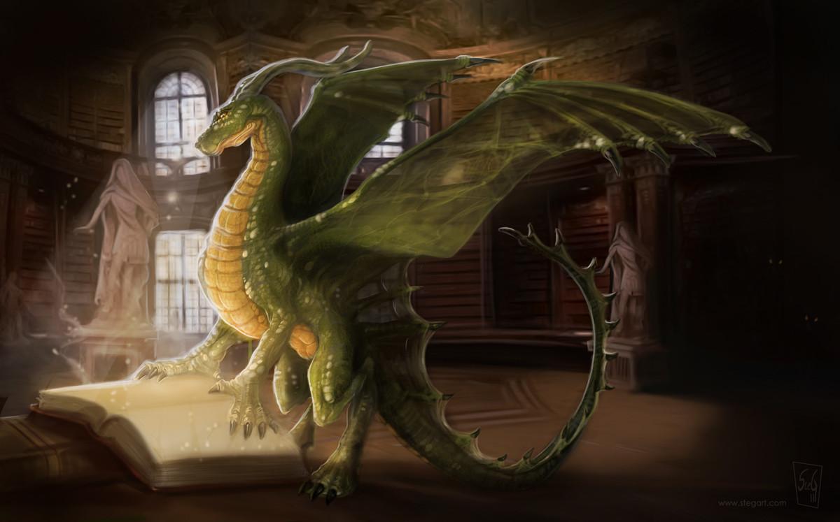 время дракон в очках картинки тому