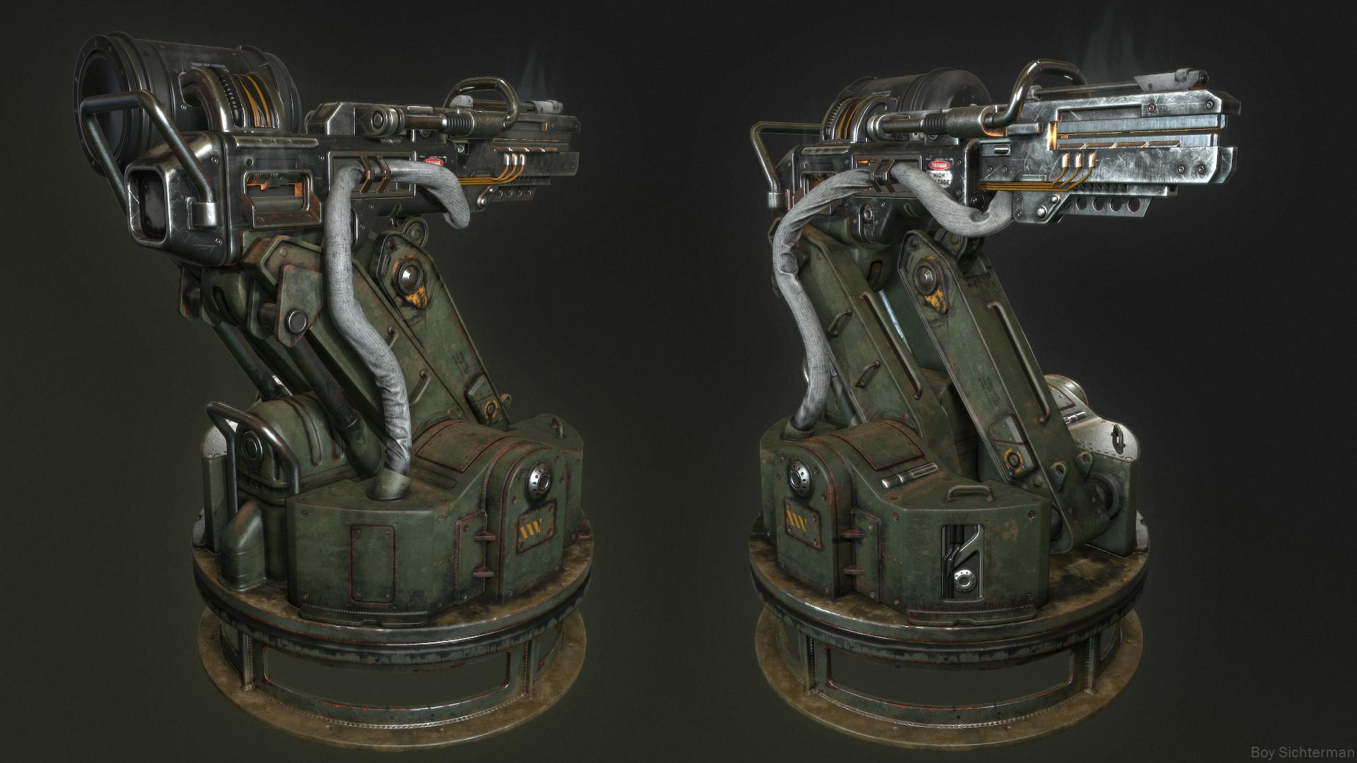 Boy sichterman turret 1