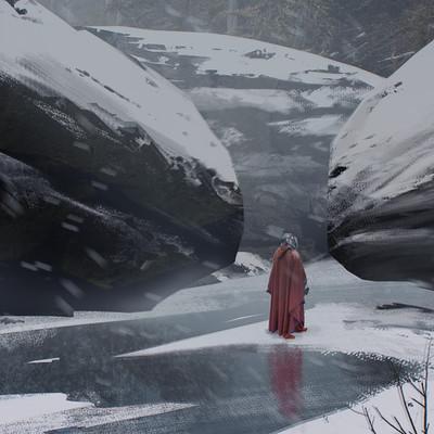 Prince mahlangu frozen river