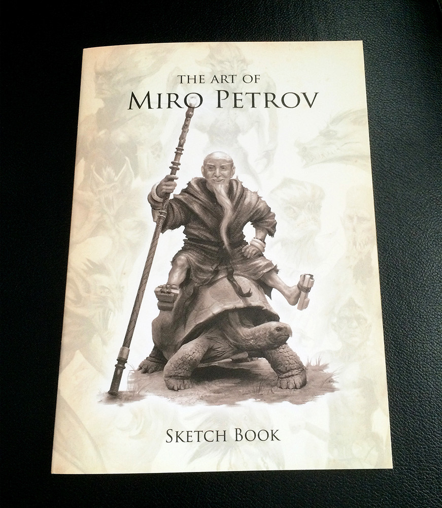 The Art of Miro - Sketchbook