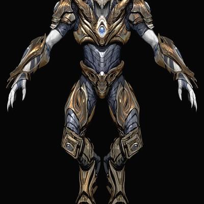 Anthony jones zealot proportions armor v4body