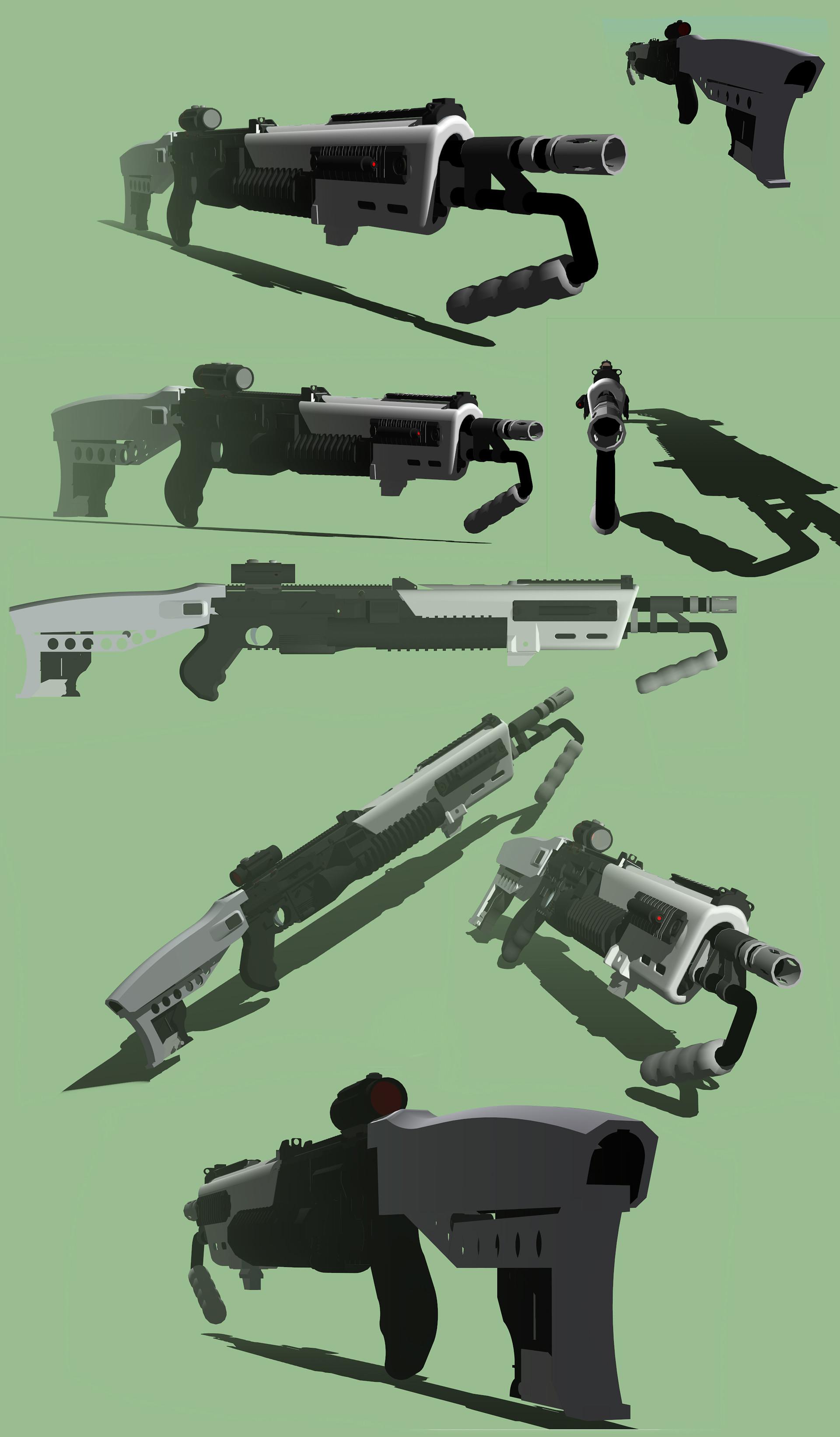 Cristian bruno lai type pump shotgun