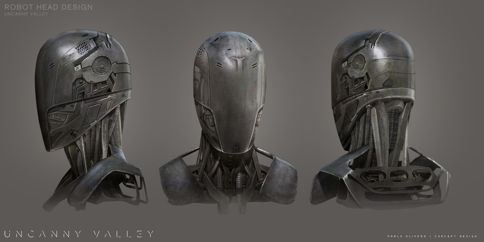 Robot Design for Uncanny Valley ( Sci-Fi short film )