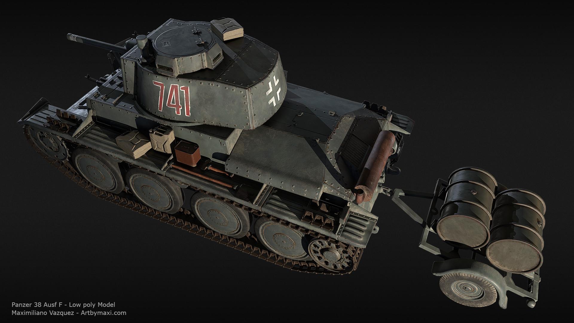 Maximiliano vazquez panzer38 lp8