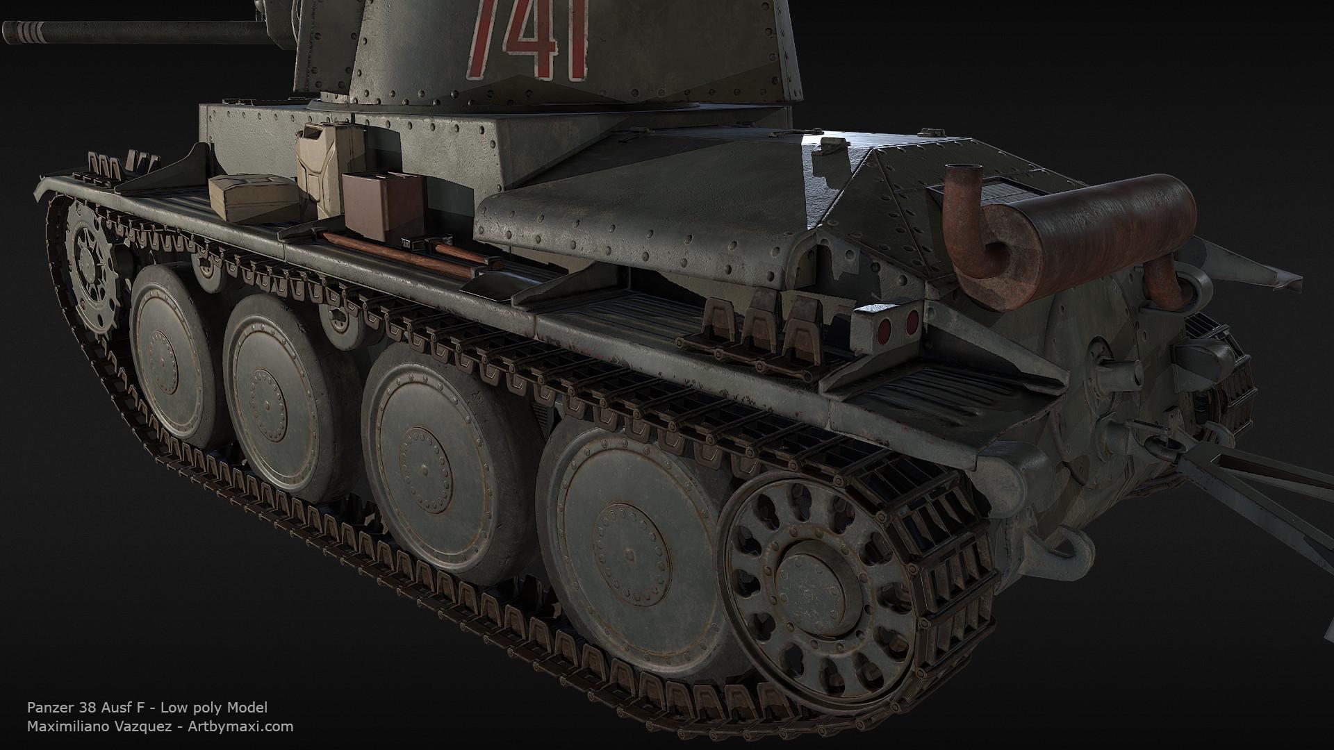 Maximiliano vazquez panzer38 lp4