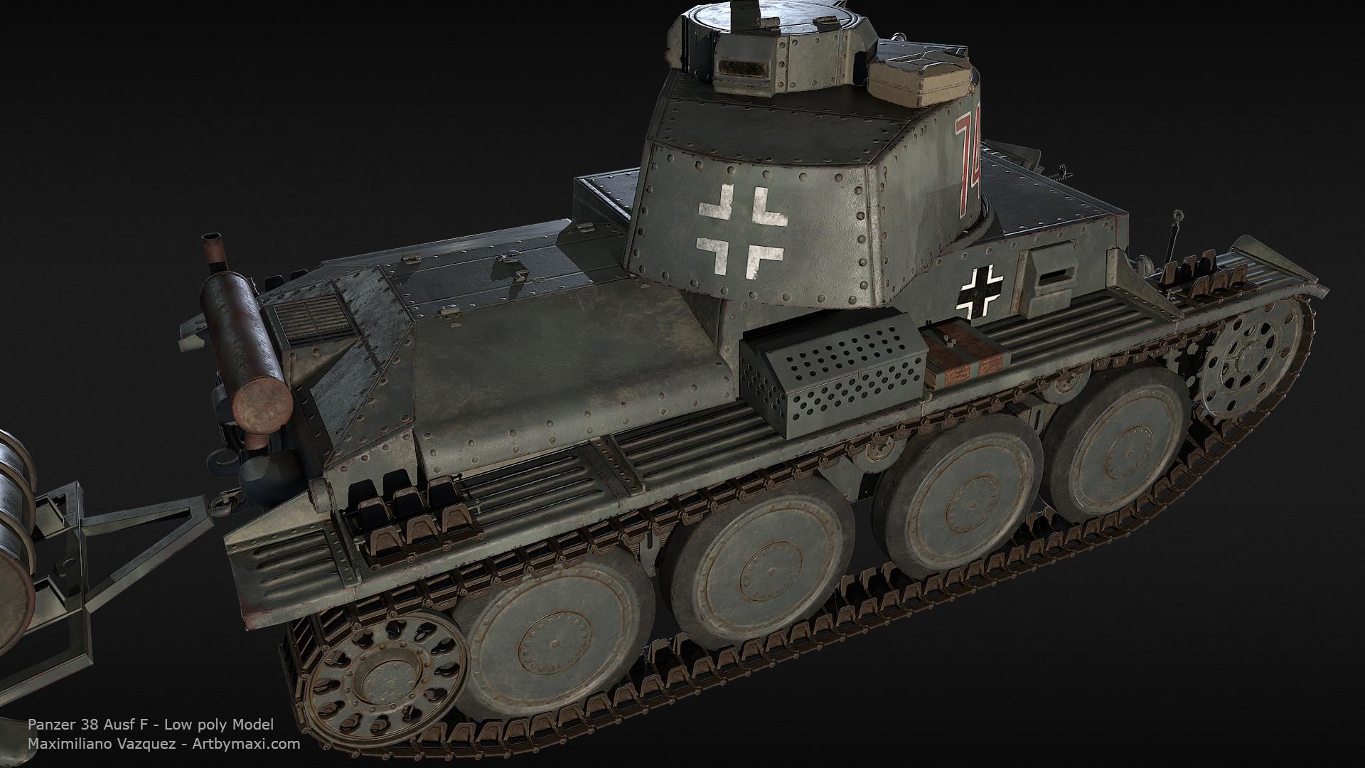 Maximiliano vazquez panzer38 lp6