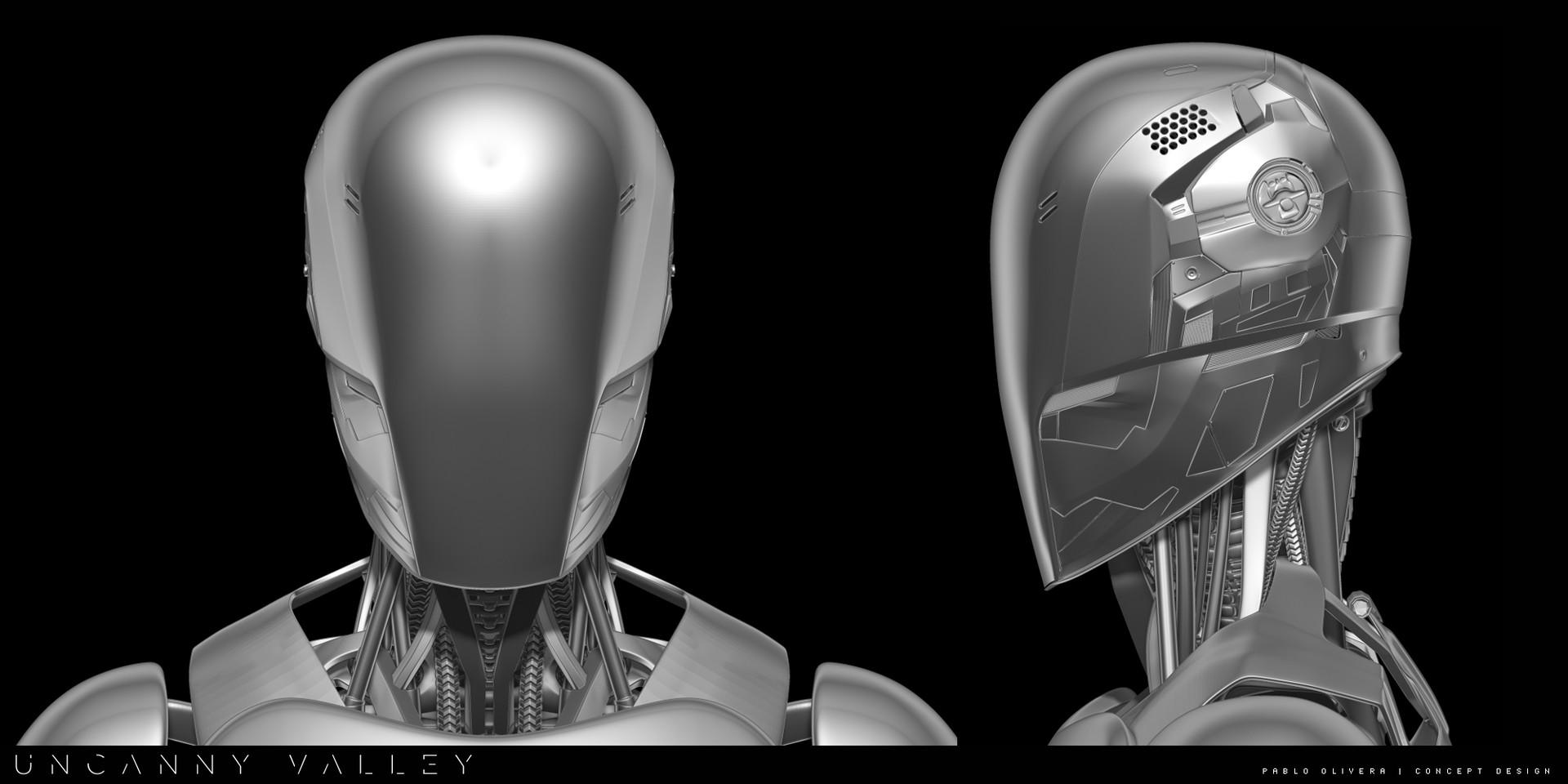 Pablo olivera uncanny valley character design robot detalle1