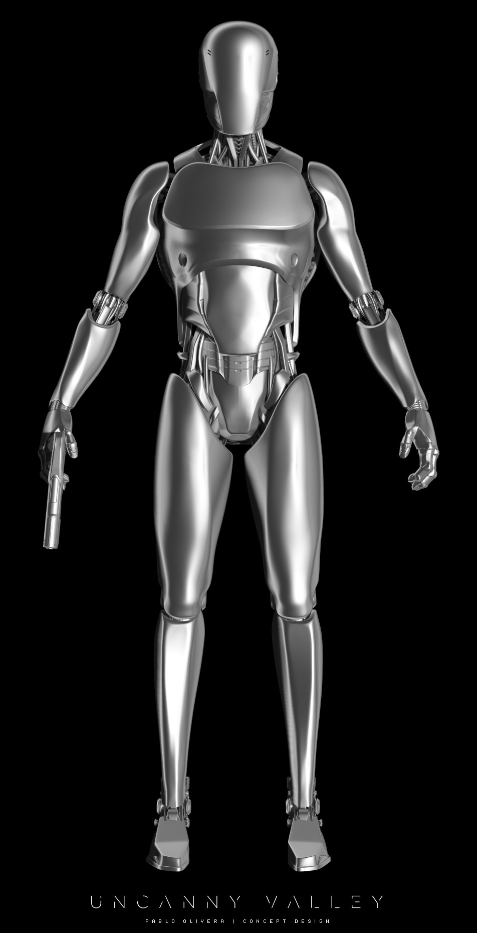 Pablo olivera uncanny valley character design robot 01