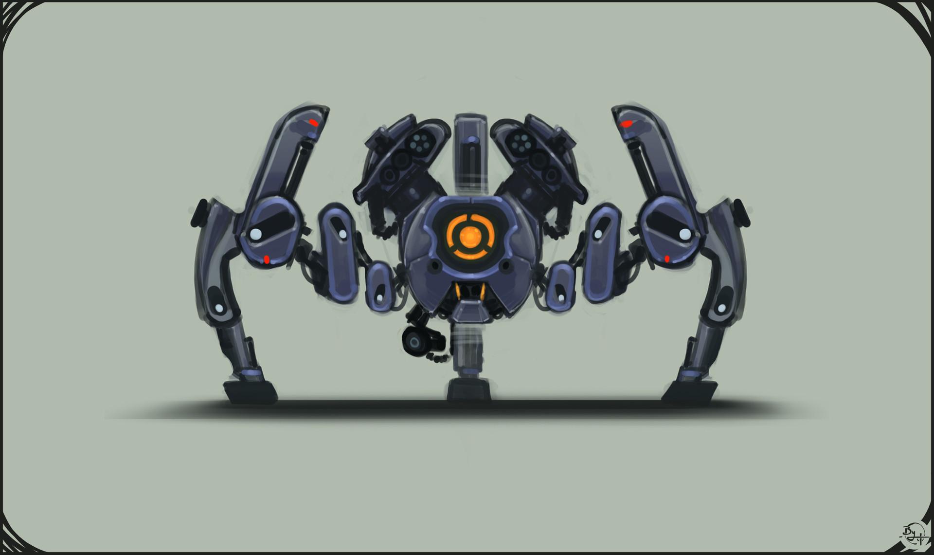 Etienne beschet conceptart badbot v2