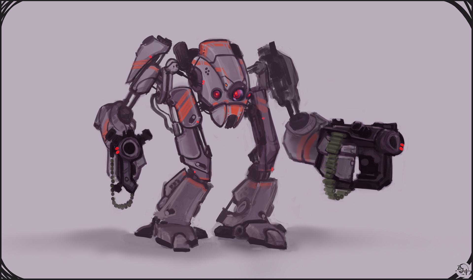 Etienne beschet conceptart badbot v3
