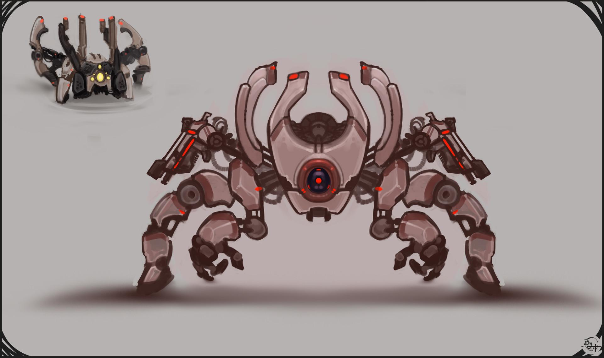 Etienne beschet conceptart badbot v5