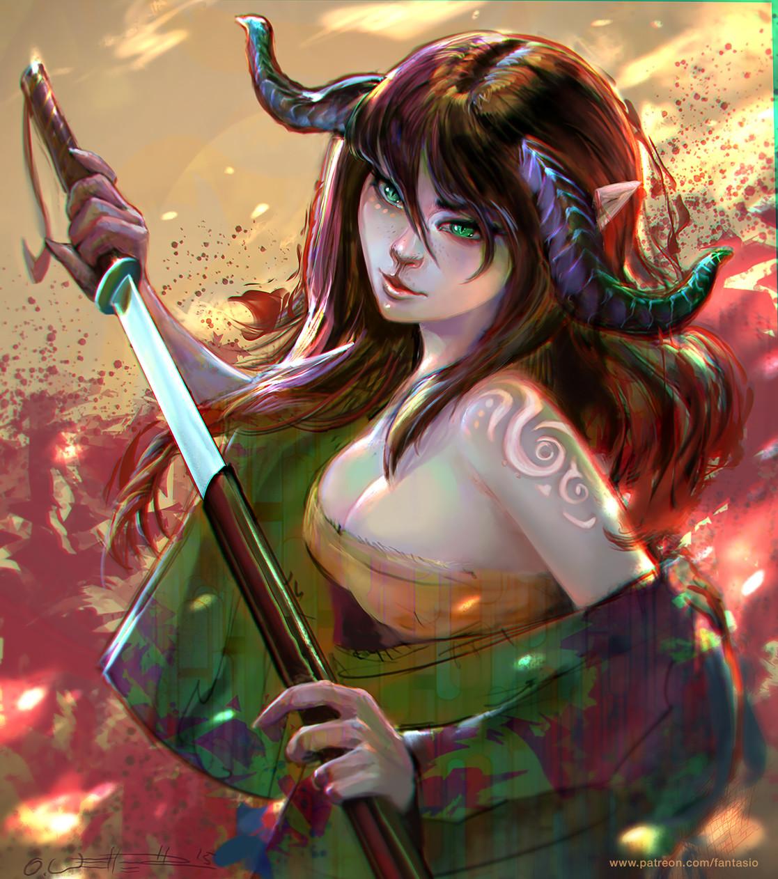 Demon girl adult gallery
