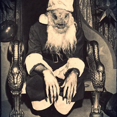 Mathieu roszak creepy christmas