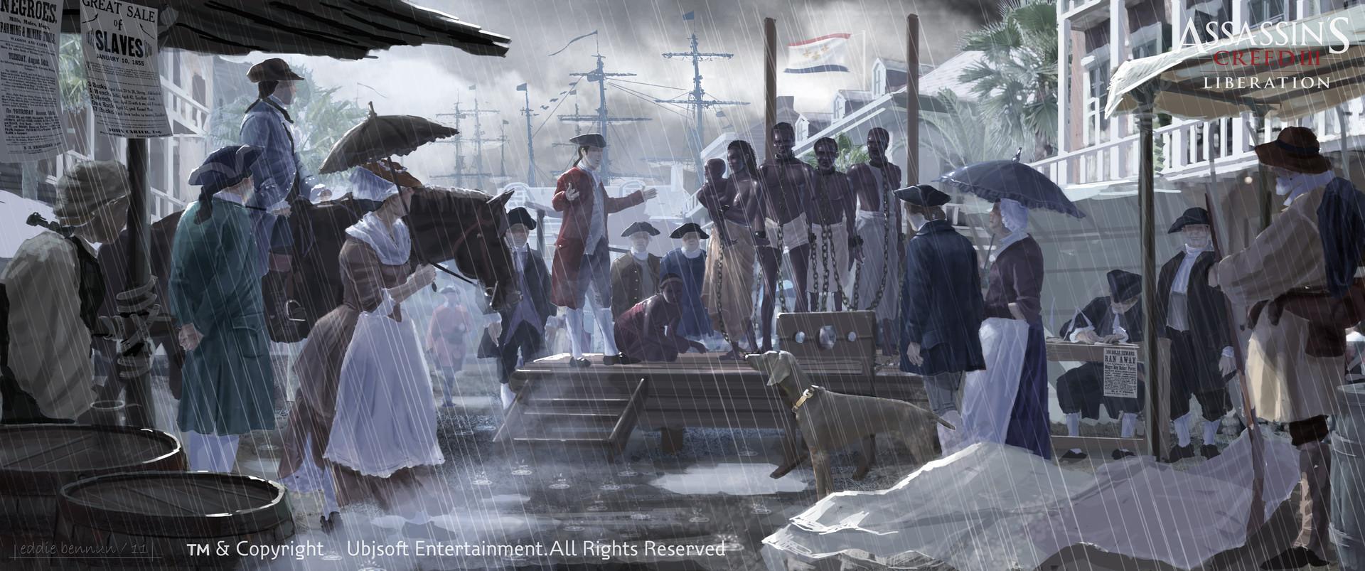 Eddie bennun aclib sc neworleans market slaves eddiebennun