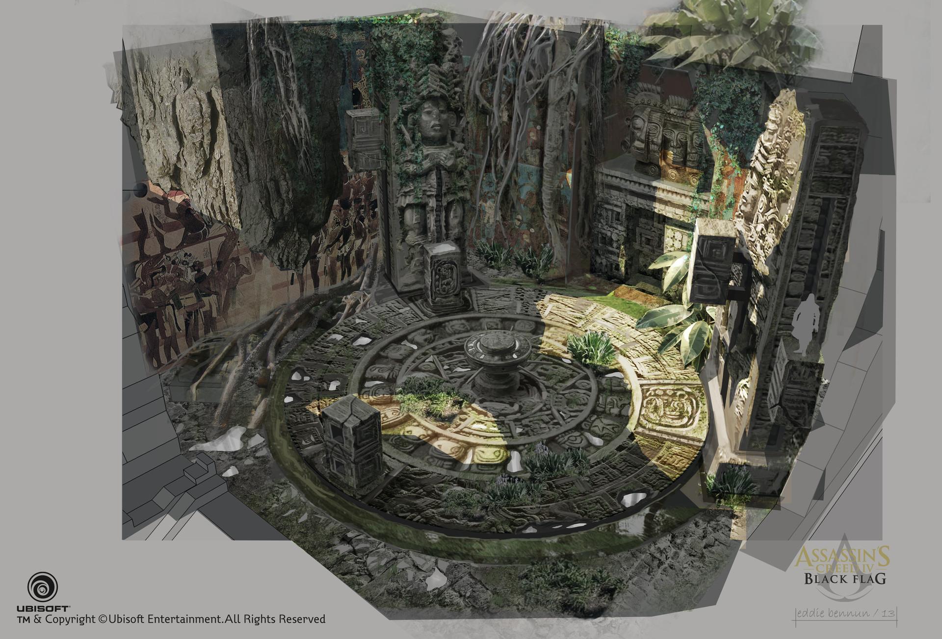 Eddie bennun acbf ev mayan mural puzzle eddiebennun