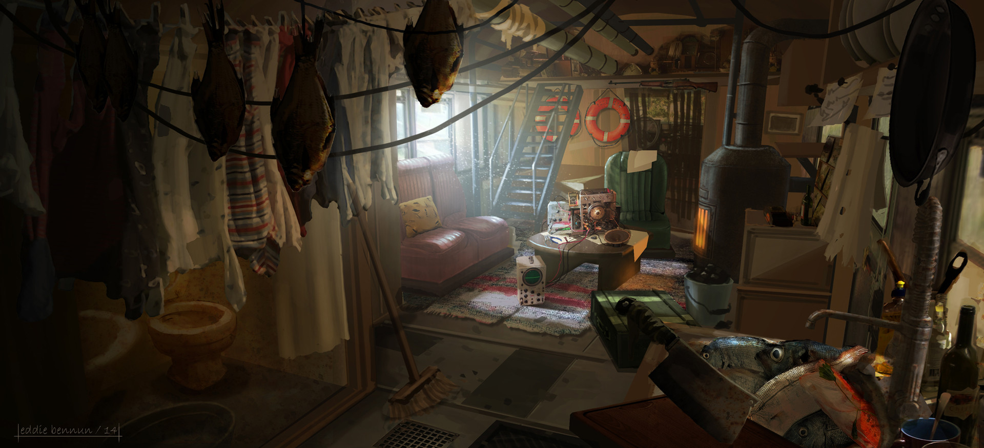 Eddie bennun living room lr